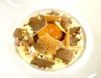 Photo Oignon doux confit et caramélisé, crème légère de pomme